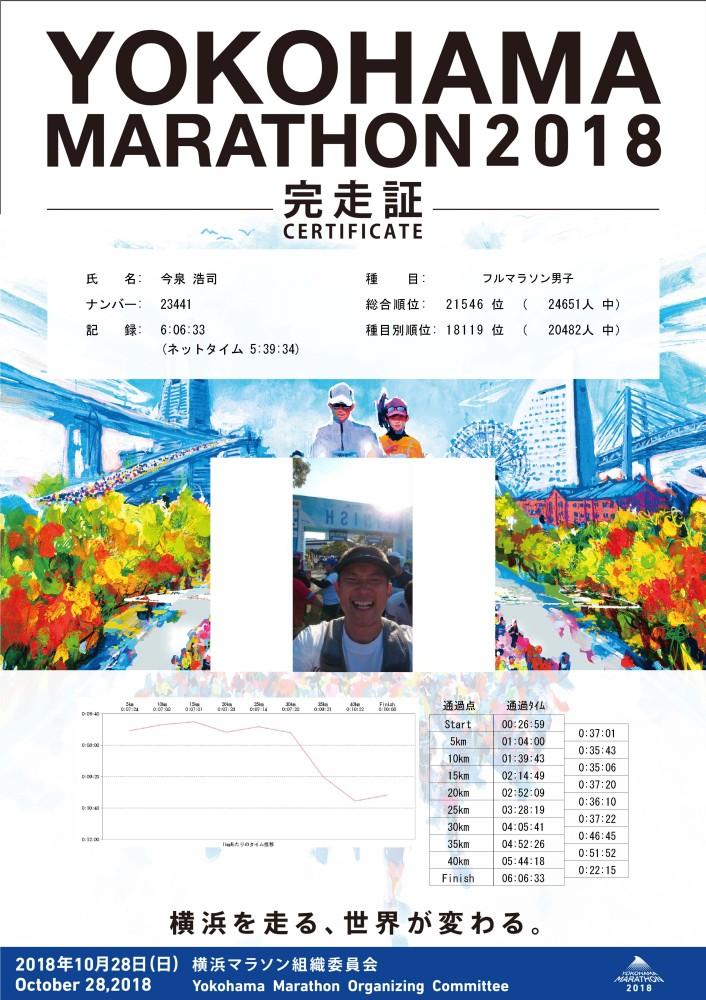 2018横浜マラソン