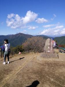 陣馬山トレイル1