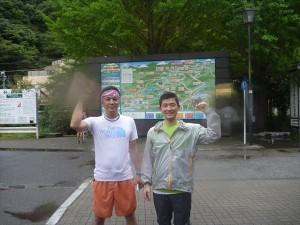 高尾山トレイルラン1